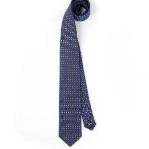 کراوات ابریشمی طرح دار مردانه Gianfranco -سورمه ای