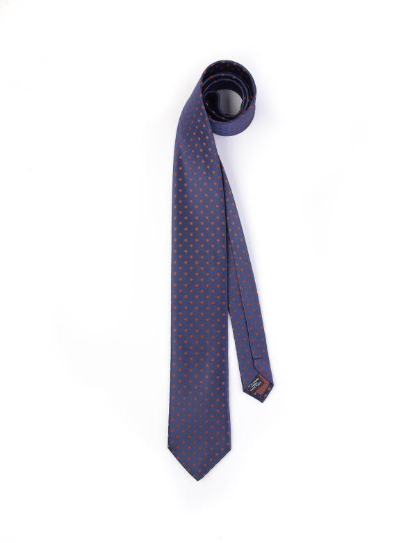 کراوات ابریشمی طرح دار مردانه Rossi کد T1033