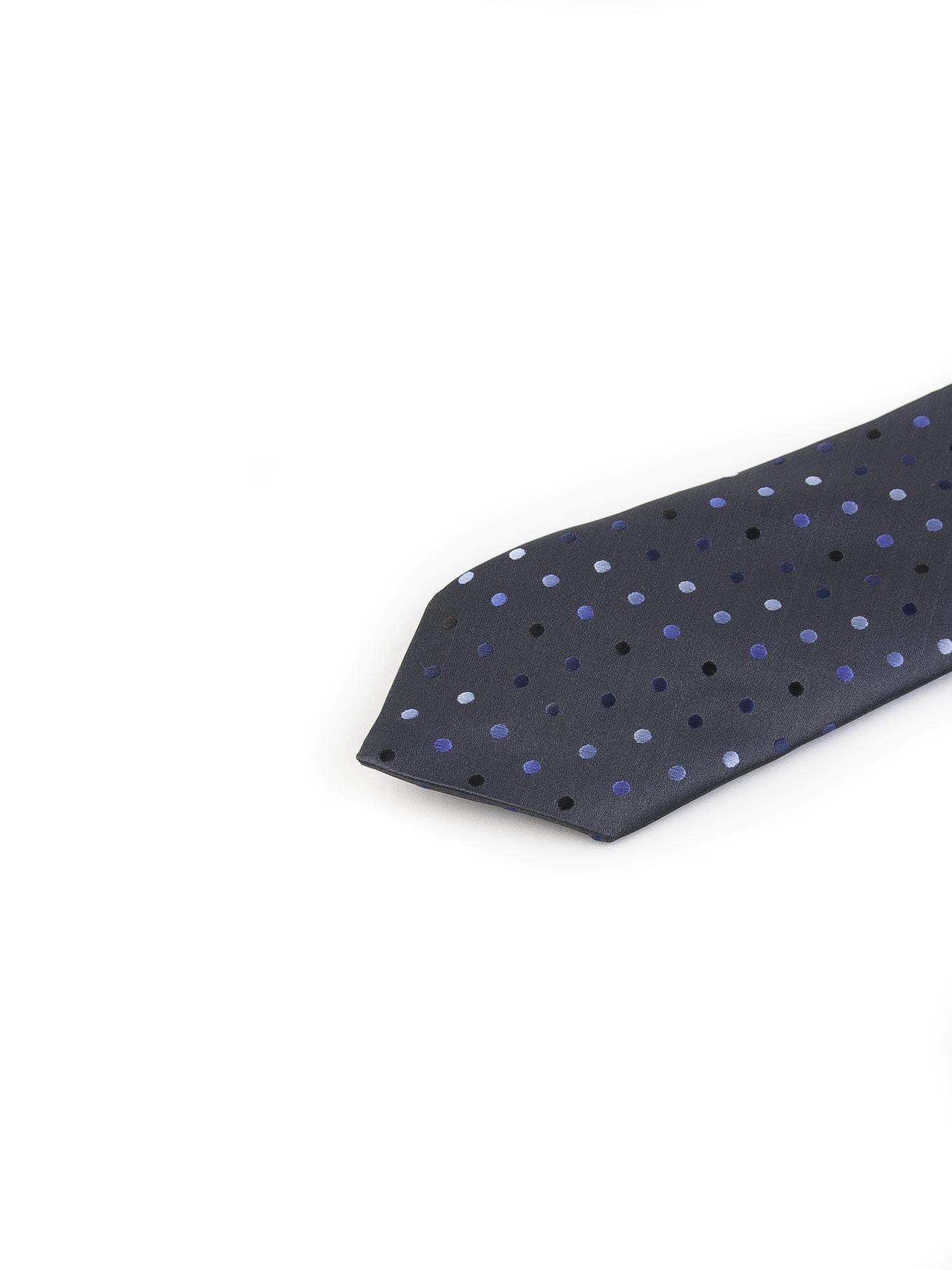 کراوات ابریشمی طرح دار مردانه Rossi-مشکی- T1031
