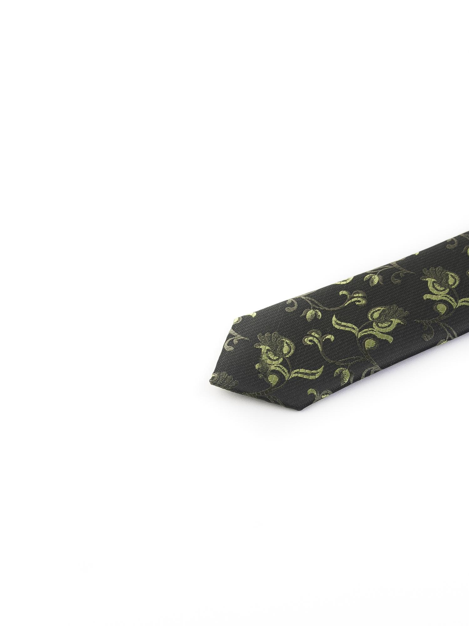 کراوات ابریشمی طرح دار مردانه Rossi-سبز T1039