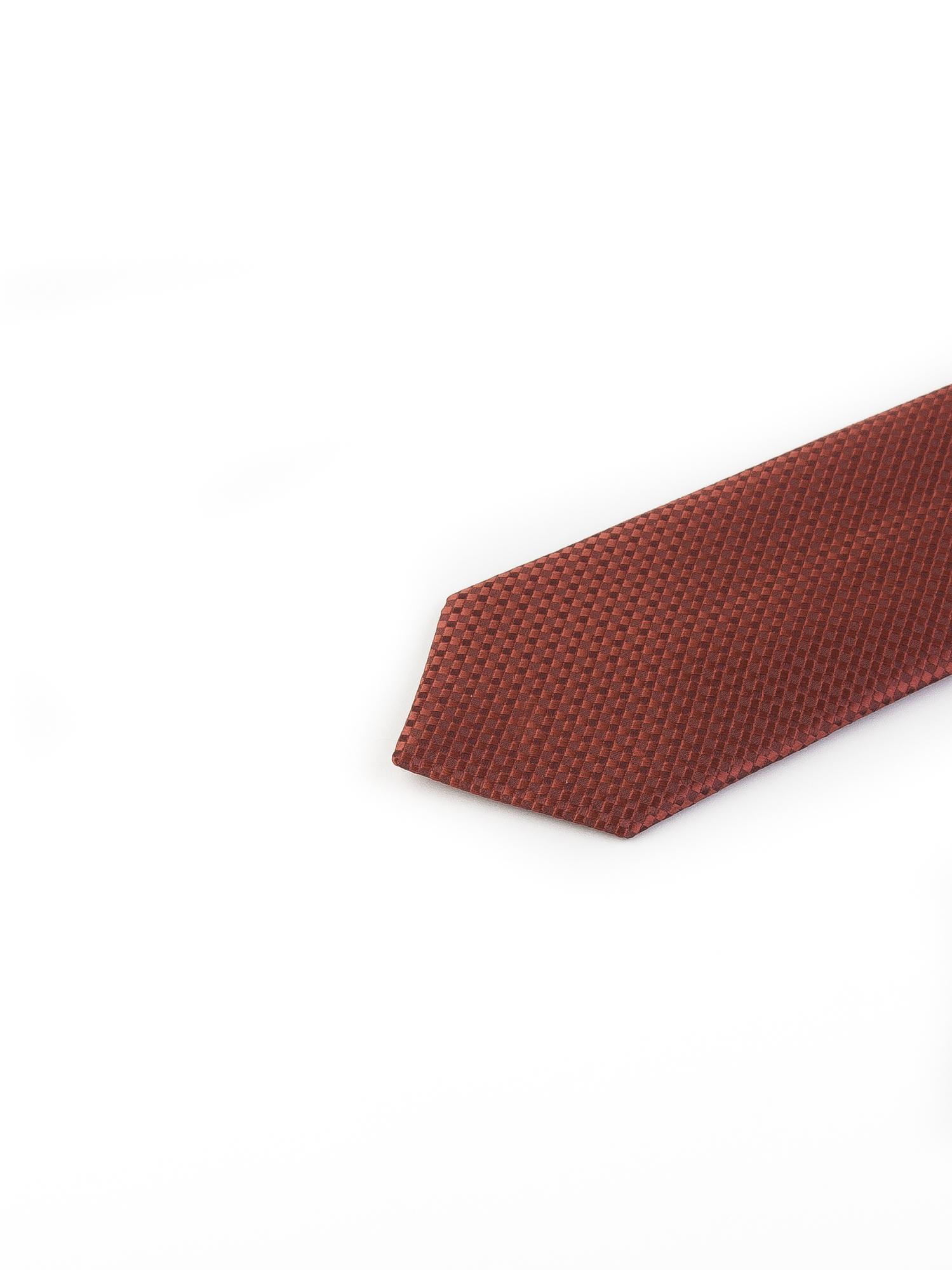 کراوات ابریشمی طرح دار مردانه Rossi-قرمز T1024