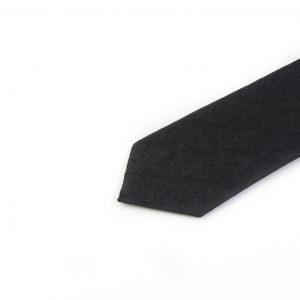 کراوات ابریشمی طرح دار مردانه Rossi-بته جقه مشکی