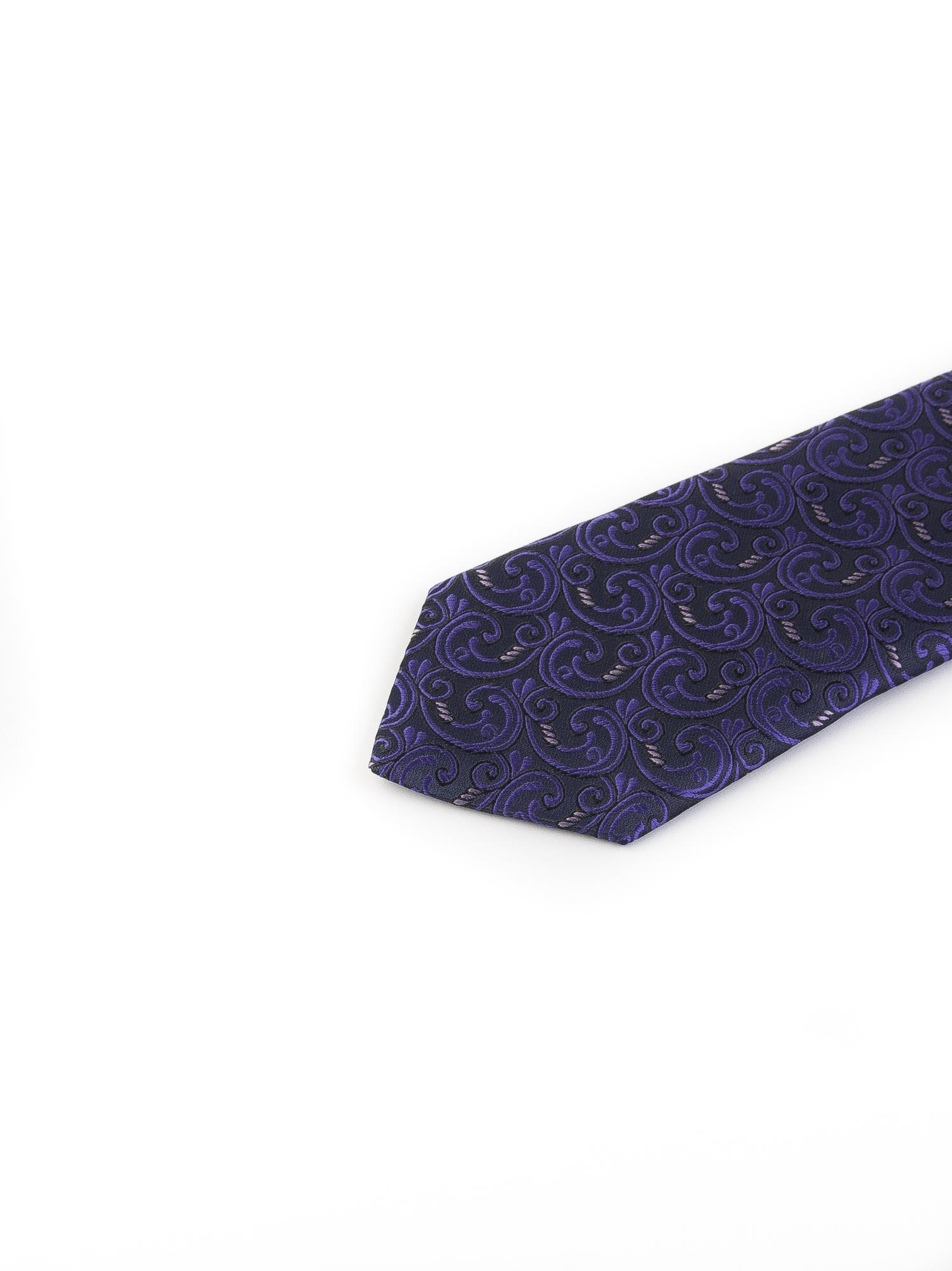 کراوات ابریشمی طرح دار مردانه Rossi کد T1012