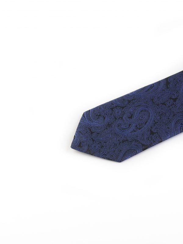 کراوات ابریشمی طرح دار مردانه Rossi-بته جقه خرید کراوات اکسسوری آقایان
