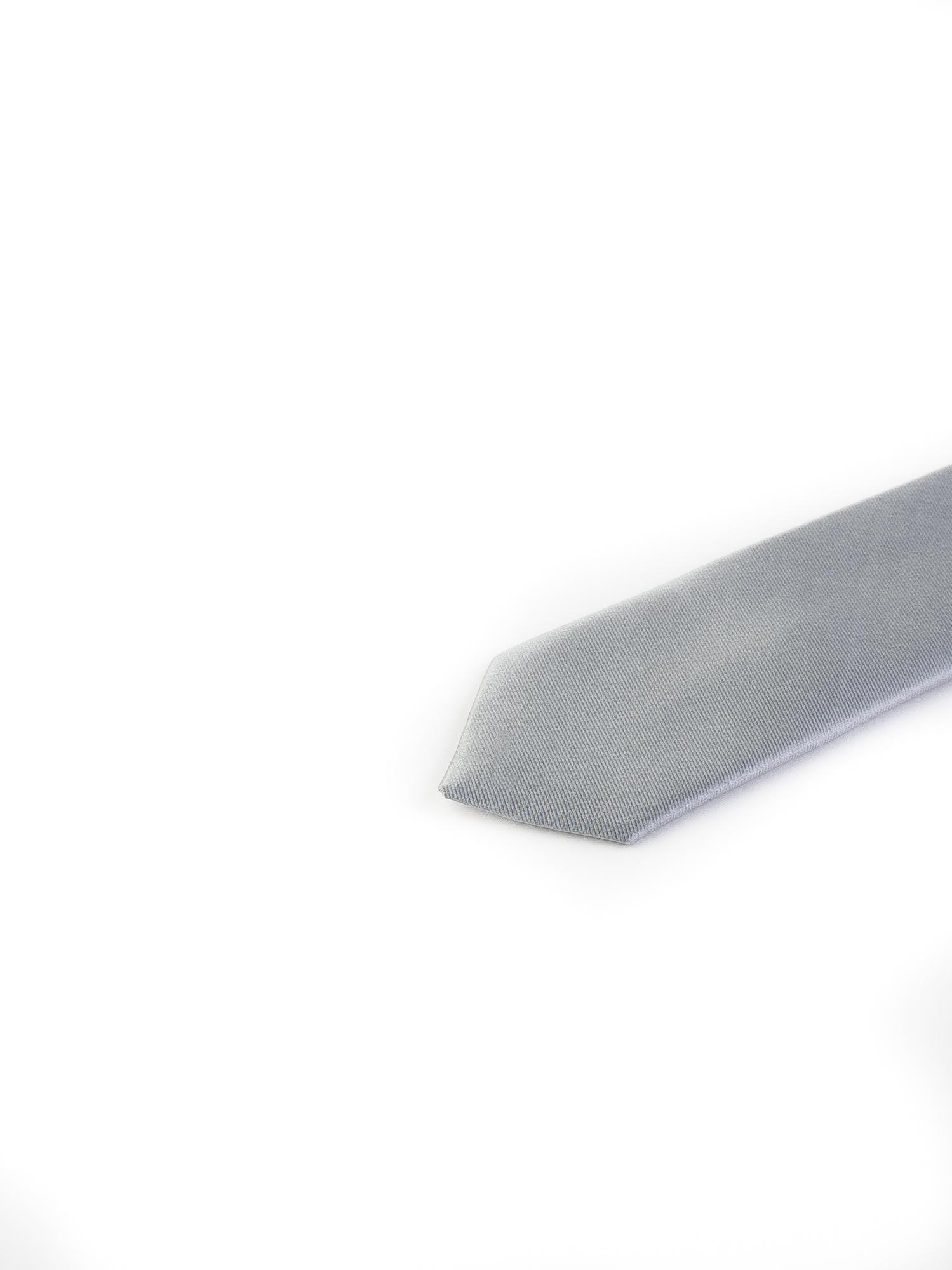 کراوات ساده مردانه-طوسی T1006