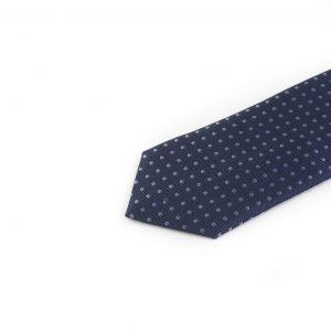 کراوات ابریشمی طرح دار مردانه Gianfranco -سورمه ای خرید کراوات اکسسوری آقایان