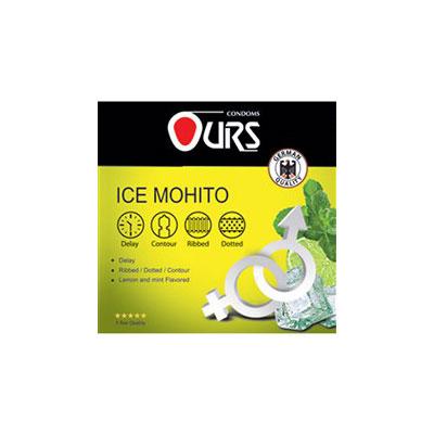 کاندوم اورز سه عددی مدل Ice Mohito- کدco1120