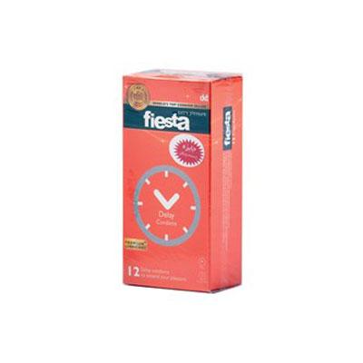 کاندوم تاخیری فیستا 12 عددی مدل Delay کد CO1164