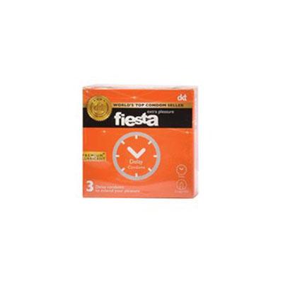 کاندوم تاخیری فیستا مدل Delay بسته 3 عددی کد CO1163