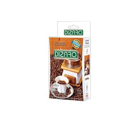 کاندوم دیزارو مدل DOTTED RIBBED COFFEE- کدco1151