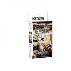 کاندوم دیزارو مدل DOTTED RIBBED DOBLE DELAY- کدco1154