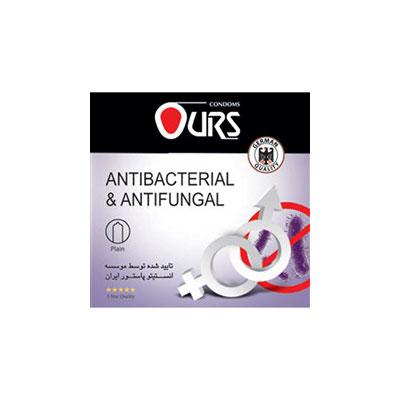 کاندوم اورز سه عددی مدل Antibacterial And Antifungal- کدco1126