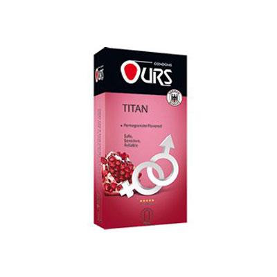 کاندوم اورز دوازده عددی مدل Titan- کدco1142