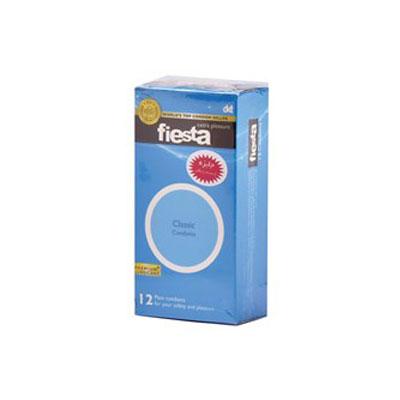 کاندوم ساده فیستا 12 عددی مدل Classic کد CO1167