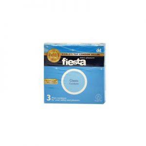 کاندوم ساده فیستا 3 عددی مدل Classic کدCO1170