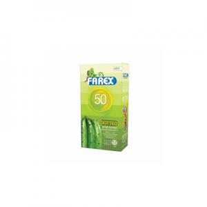کاندوم فارکس مدل خاردار-Dotted 50-کد co1016