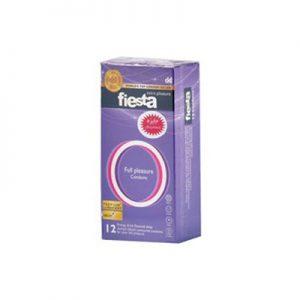 کاندوم فیستا 12 عددی مدل Full Plesasure کد CO1161