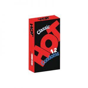 کاندوم هات دوازده عددی مدلclassic- کدco1197