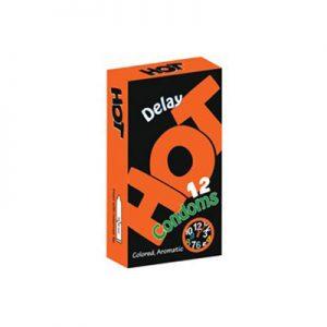 کاندوم هات دوازده عددی مدلdelay- کدco1193