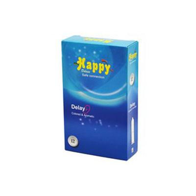 کاندوم هپی دوازده عددی مدل تاخیری-delay- کدco1186