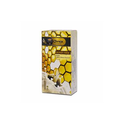 کاندوم کلایمکس 12عددی Honey Milk 12 کد CO1080