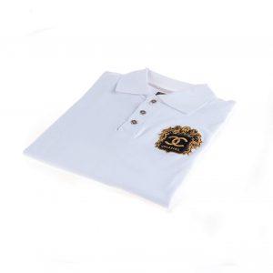 تی شرت یقه دار مردانه طرح PS1058-CHANEL