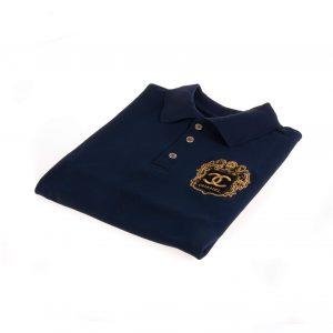 تی شرت یقه دار مردانه طرح PS1066-CHANEL