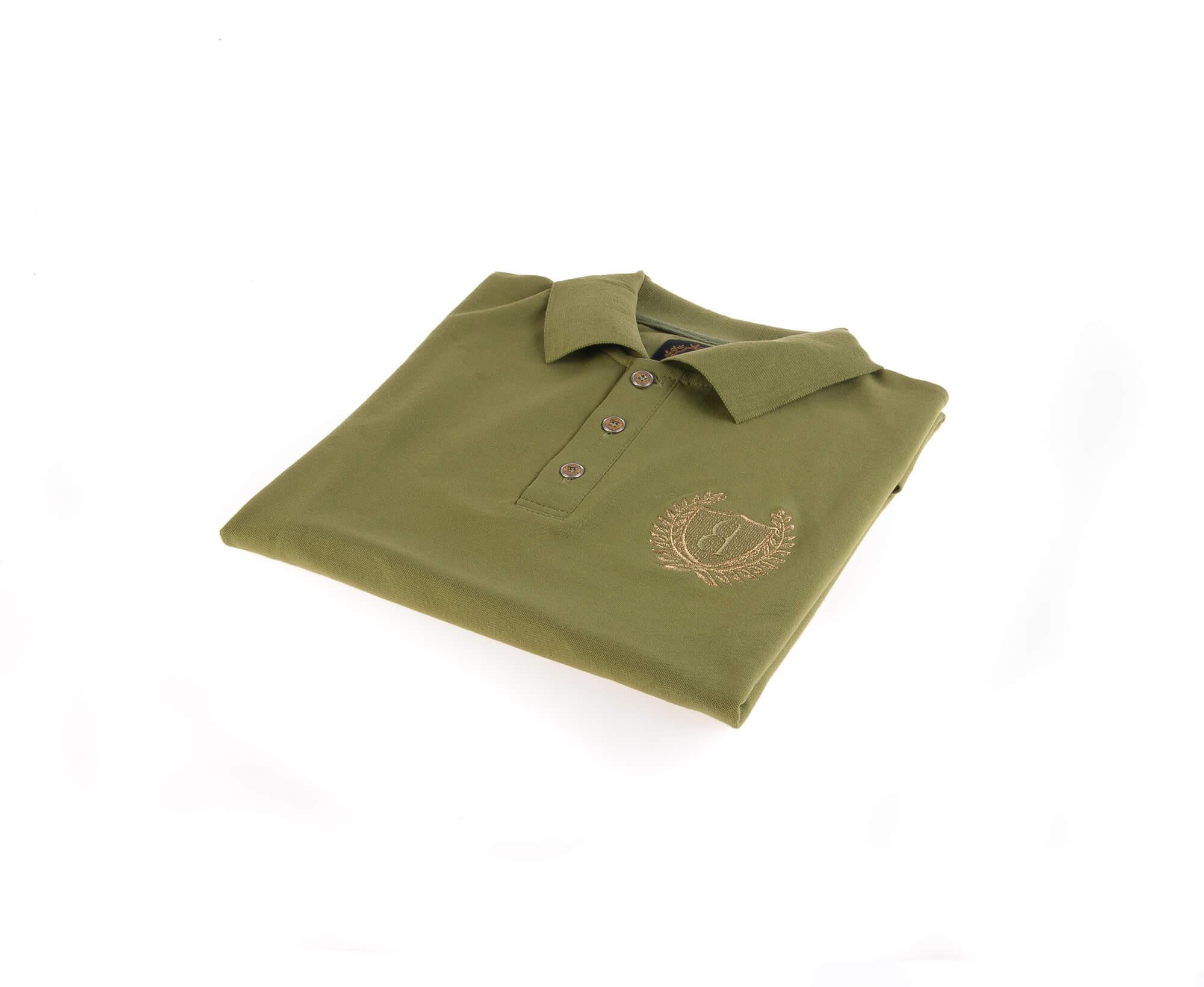 تی شرت یقه دار مردانه ساده-PS1071