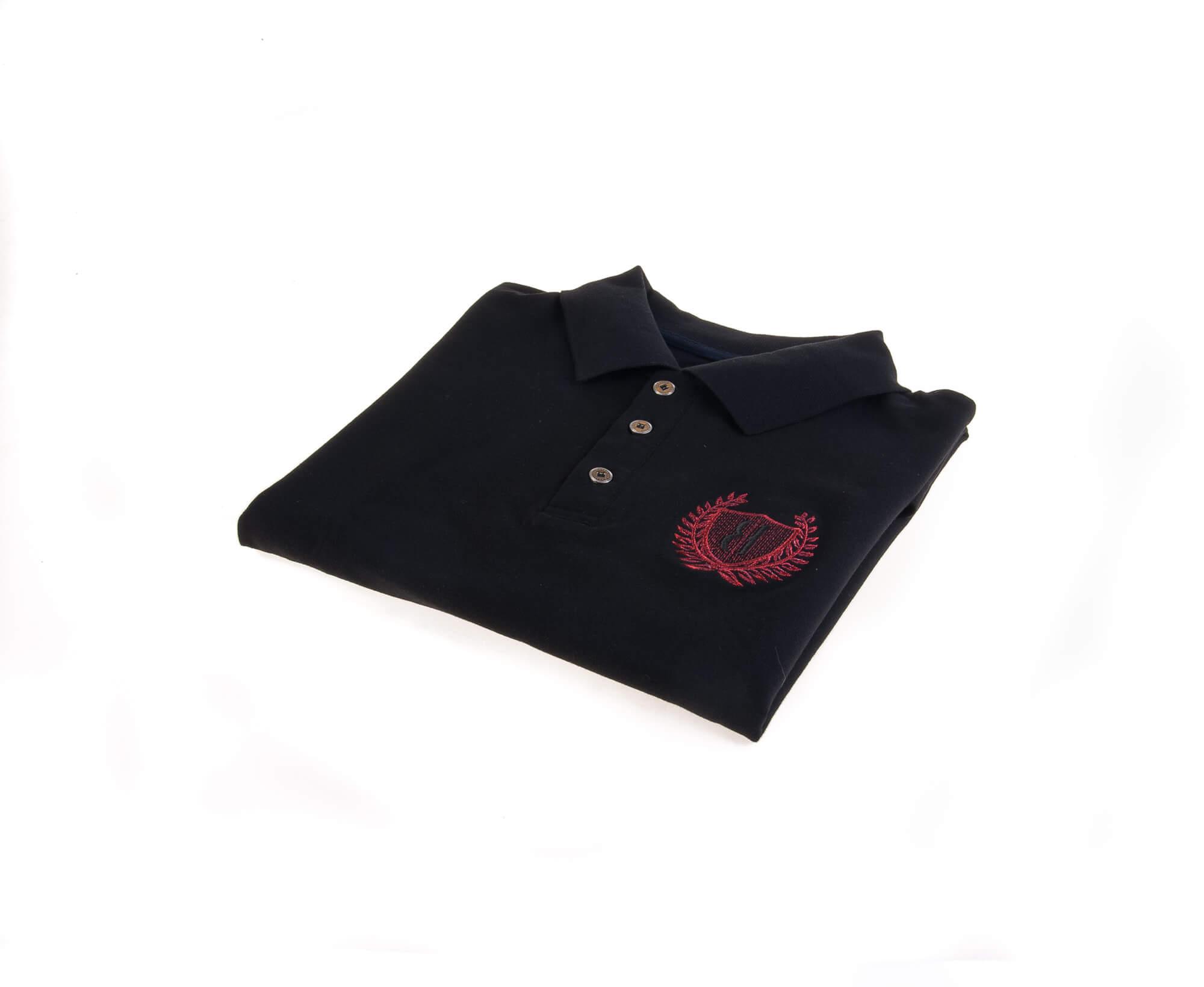 تی شرت یقه دار مردانه ساده-PS1070
