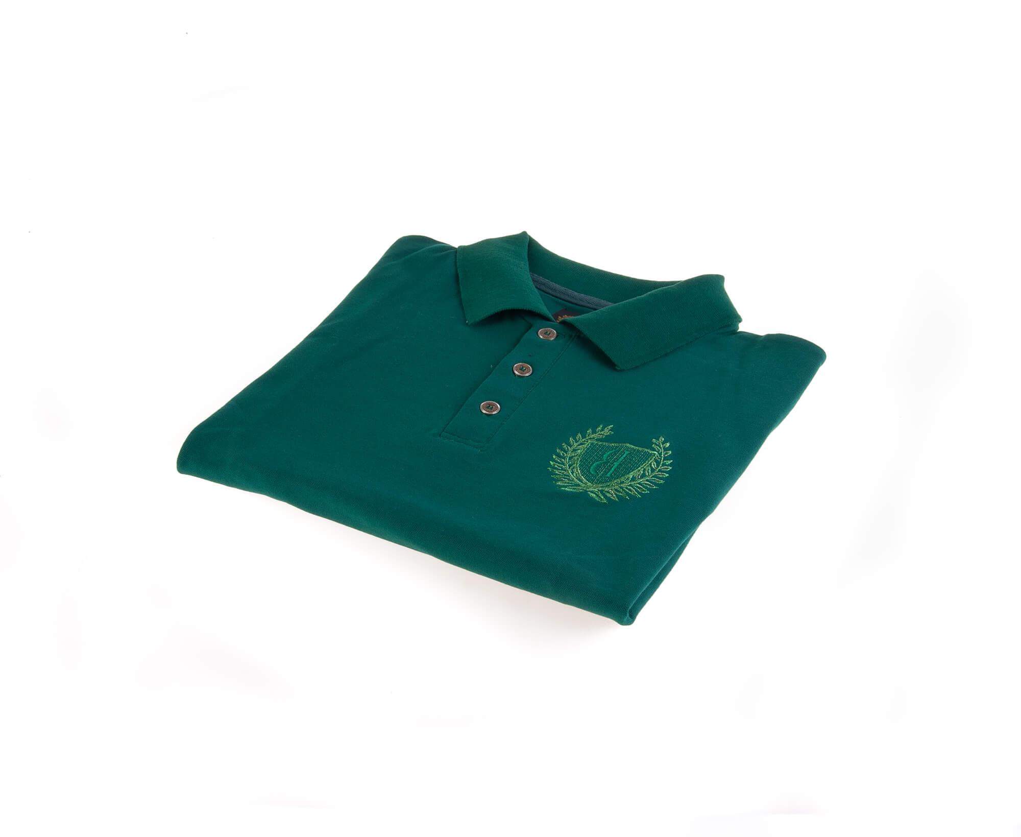تی شرت یقه دار مردانه ساده-PS1076