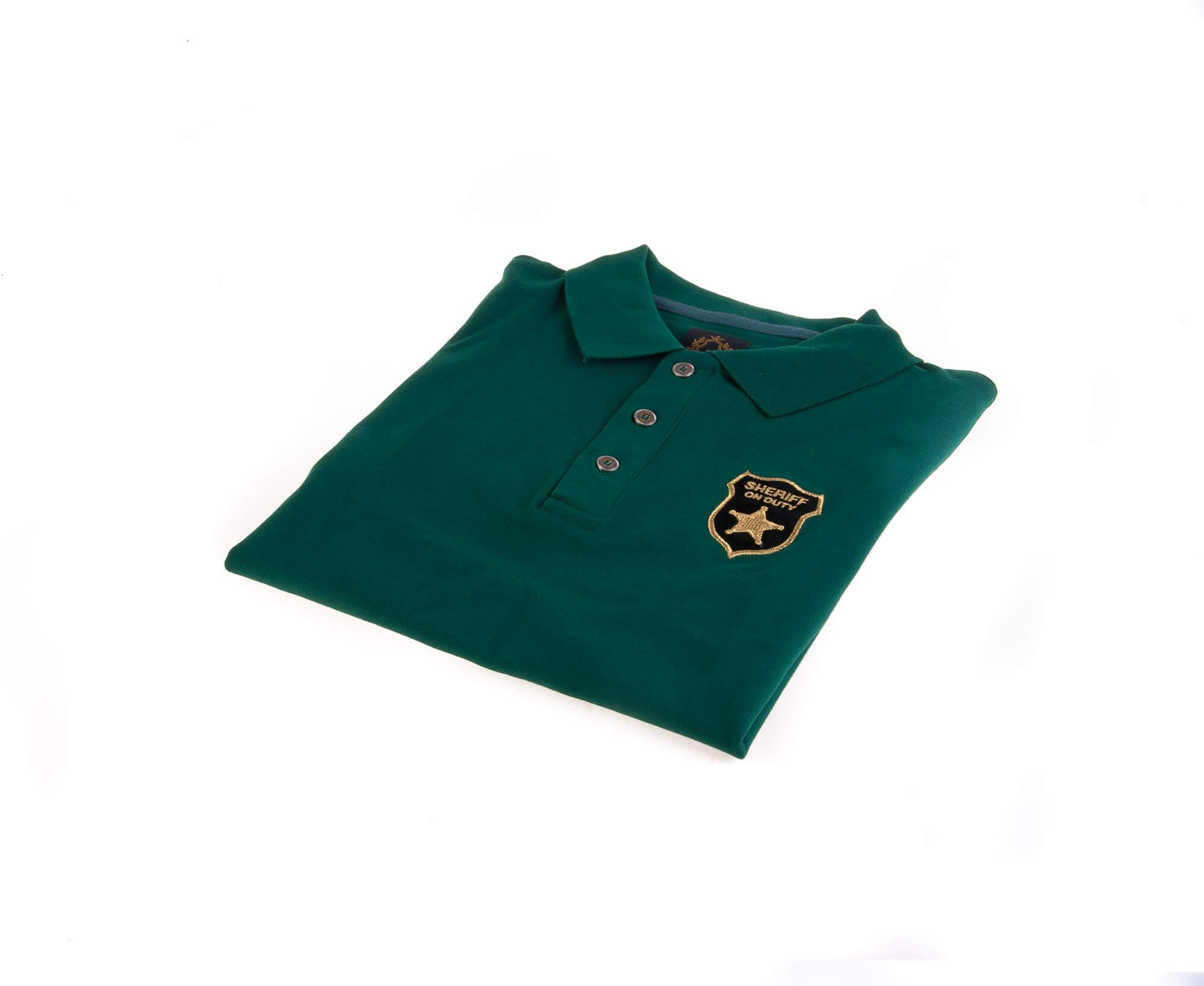 تی شرت یقه دار مردانه طرح مارشال-PS1045