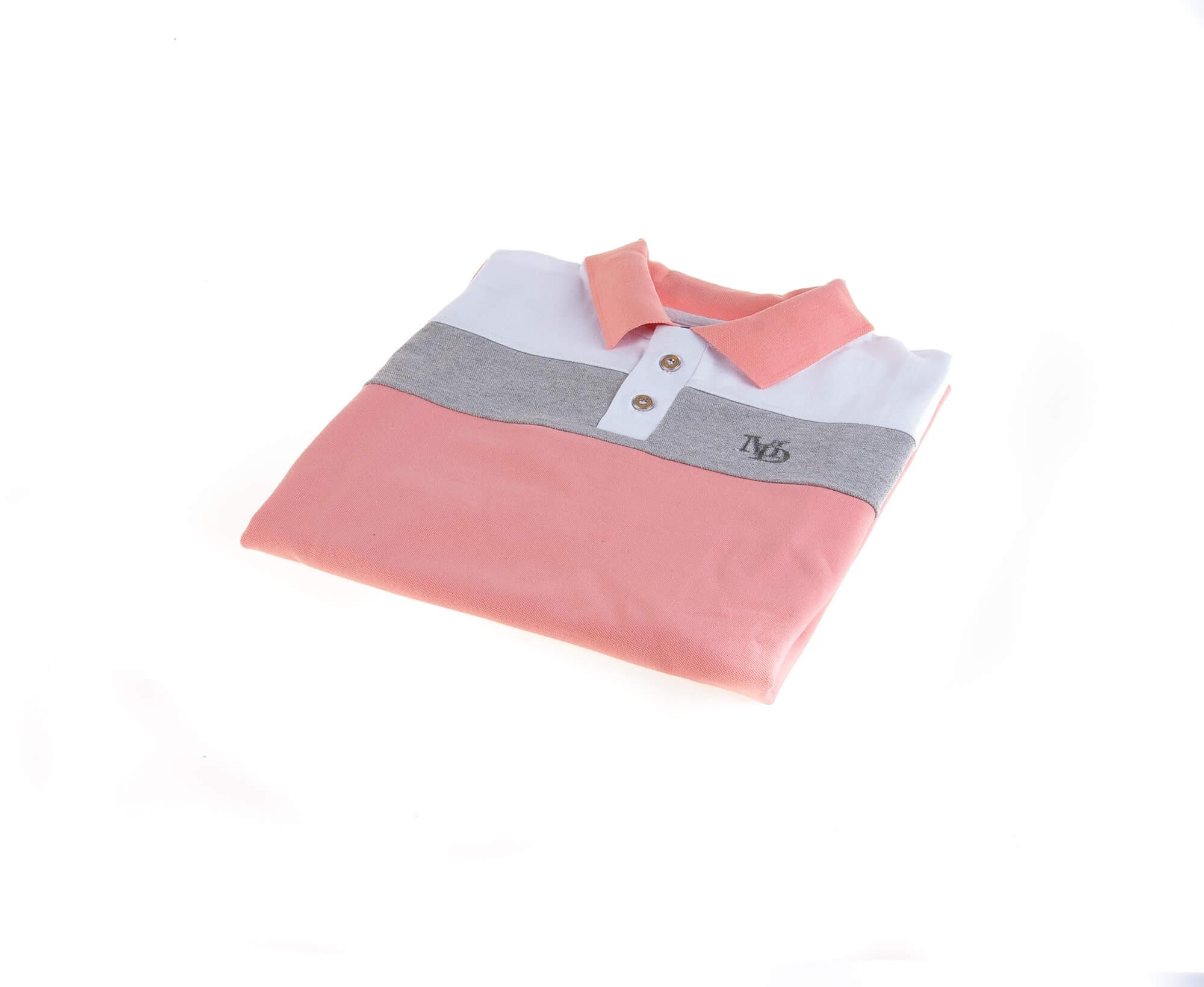 تی شرت یقه دار مردانه طرح PS1050-MD