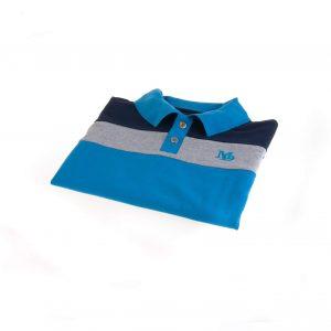 تی شرت یقه دار مردانه طرح PS1055-MD