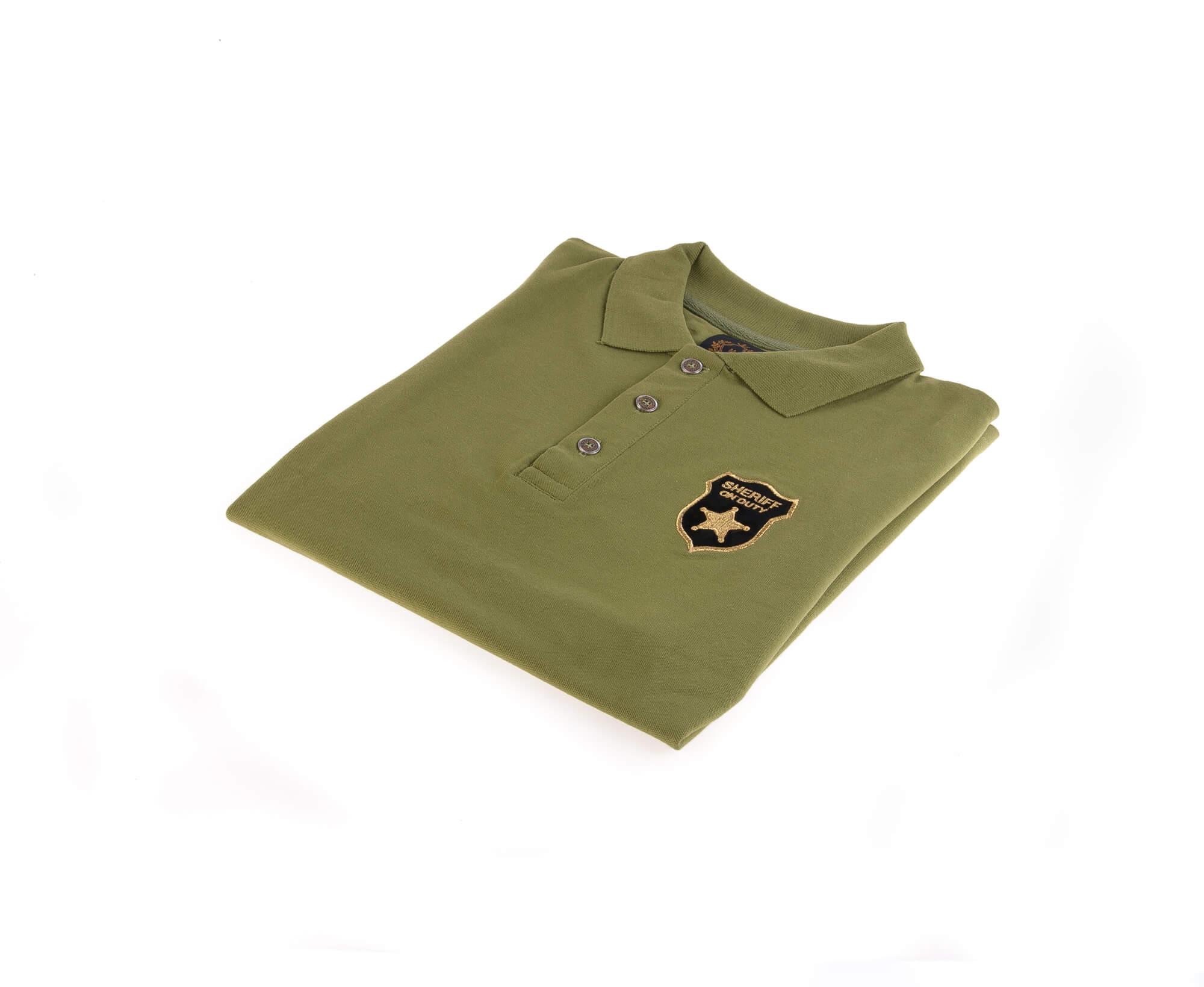 تی شرت یقه دار مردانه طرح مارشال-PS1040