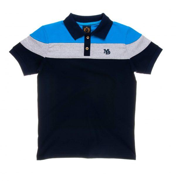 تی شرت یقه دار مردانه طرح PS1048-MD