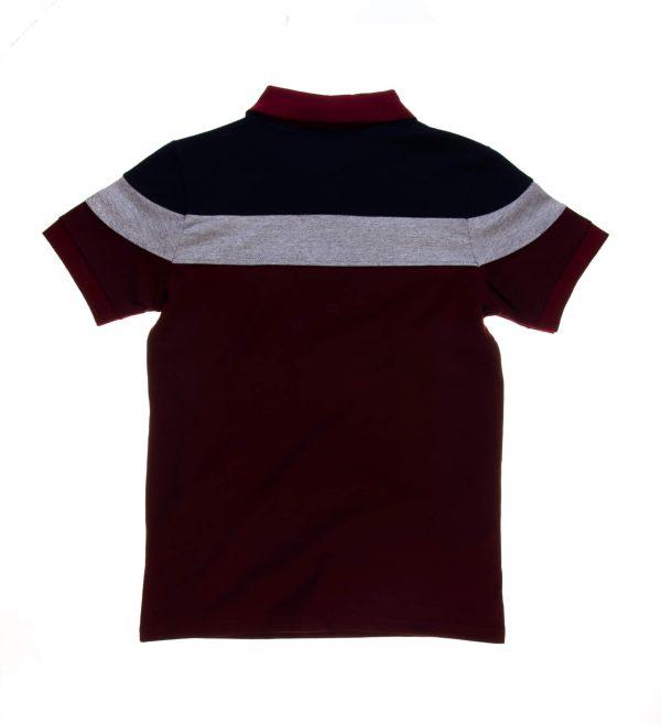 تی شرت یقه دار مردانه طرح PS1056-MD