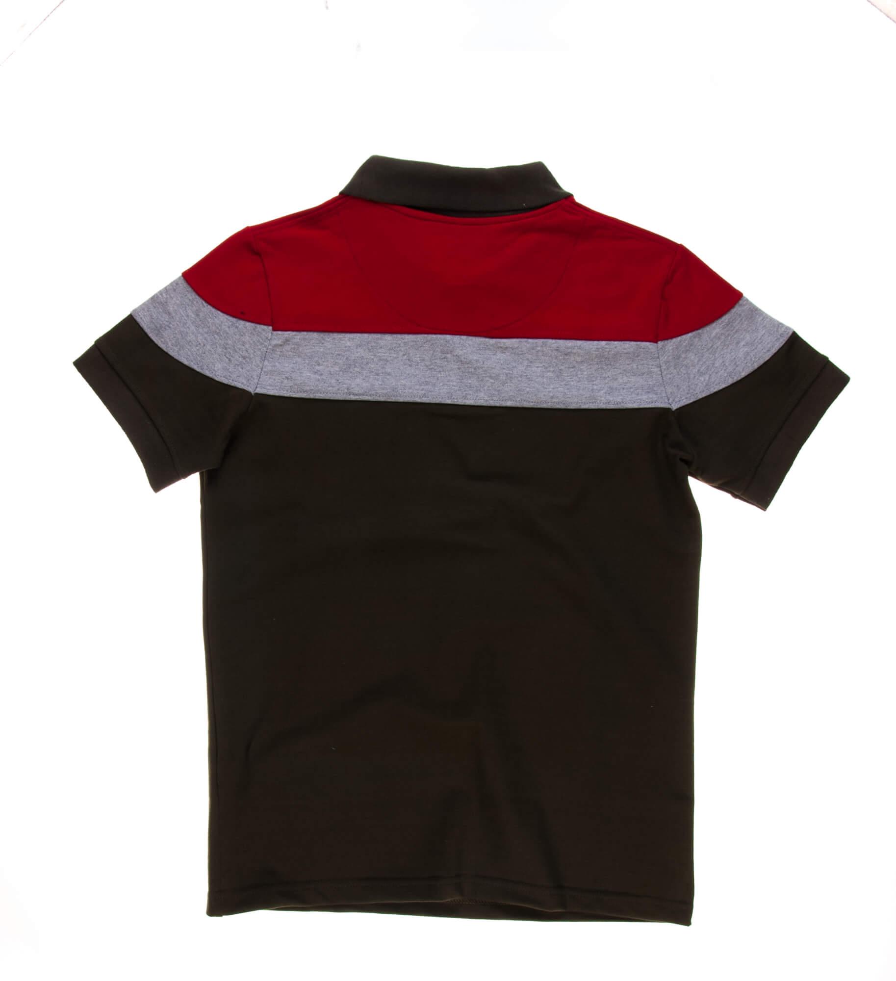 تی شرت یقه دار مردانه طرح PS1053-MD