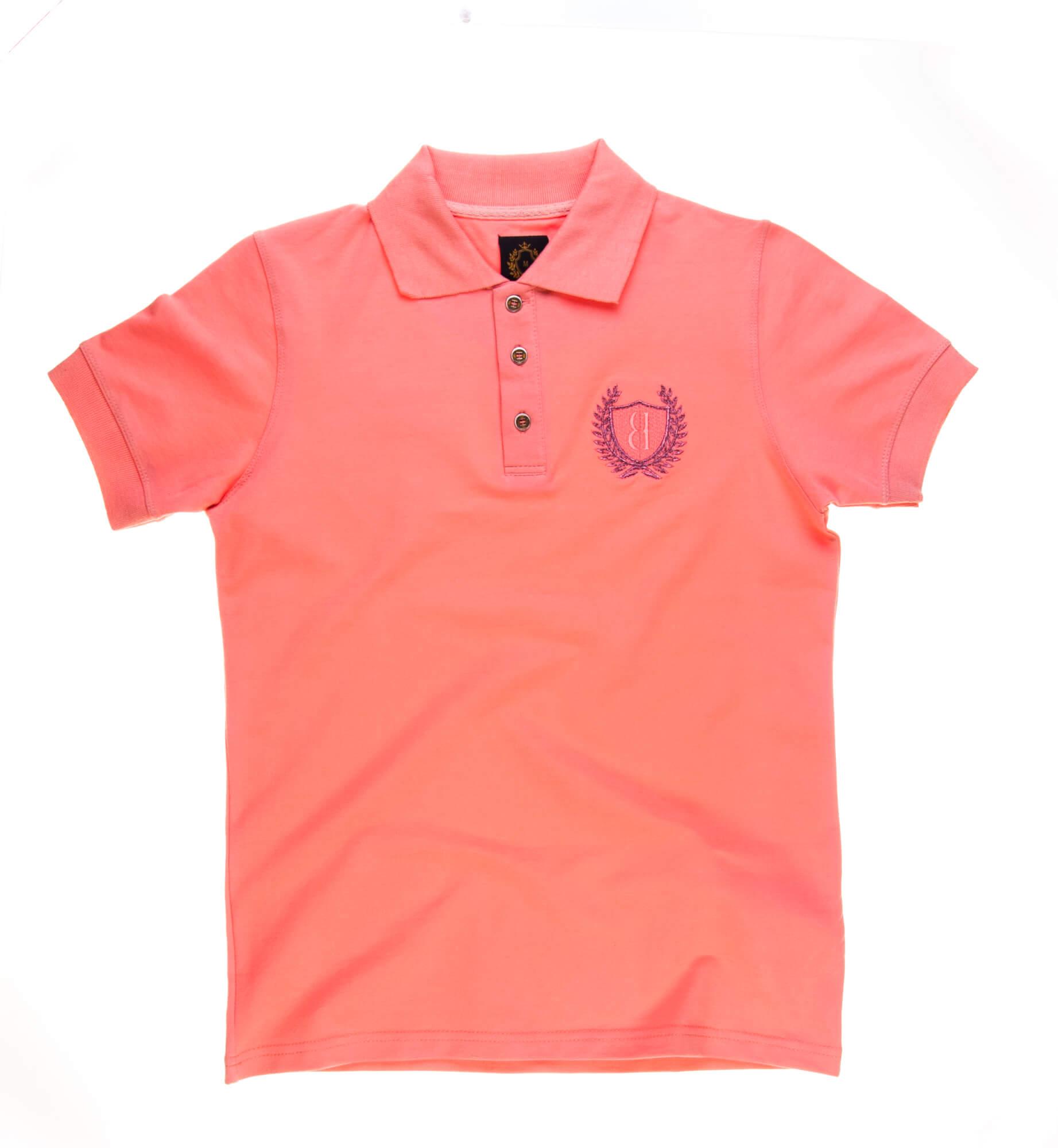 تی شرت یقه دار مردانه ساده-PS1075