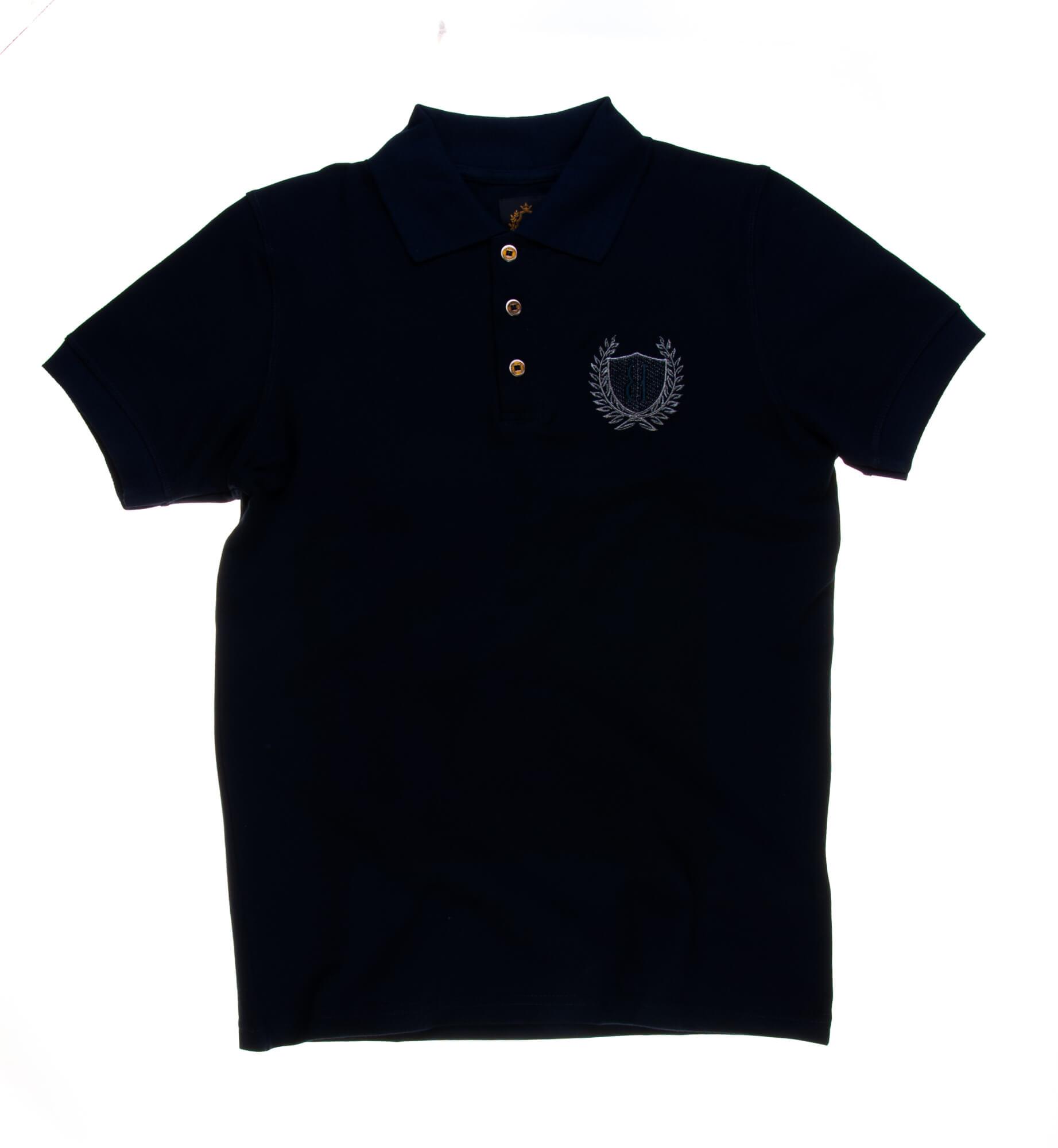 تی شرت یقه دار مردانه ساده-PS1077