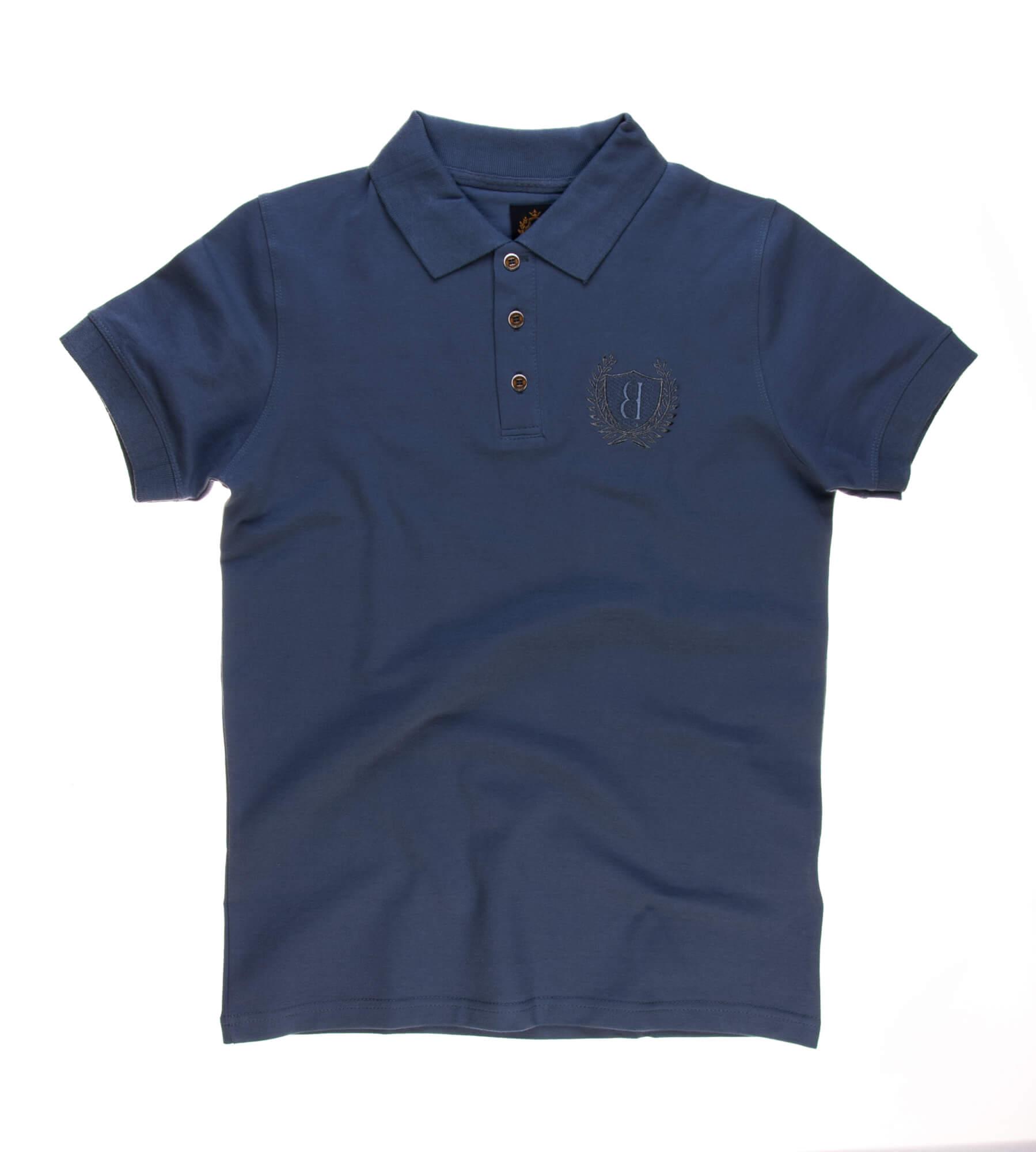 تی شرت یقه دار مردانه ساده-PS1073