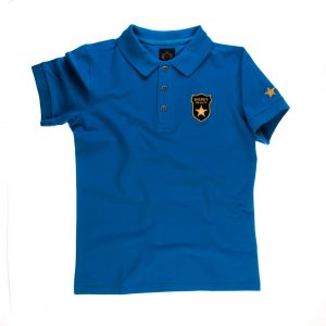 تی شرت یقه دار مردانه طرح مارشال-PS1044