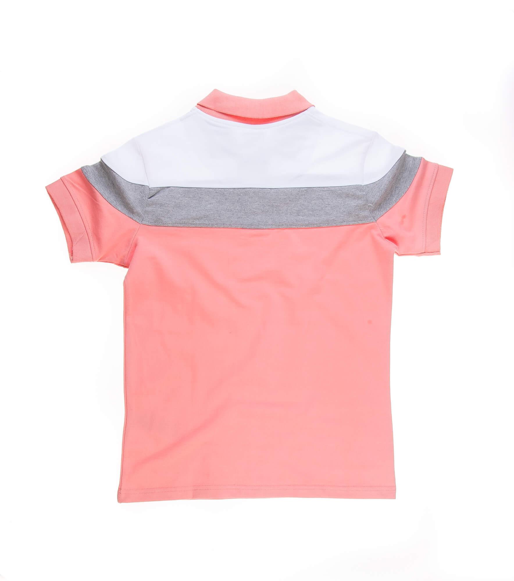 تی شرت یقه دار مردانه طرح PS1072-U.S POLO