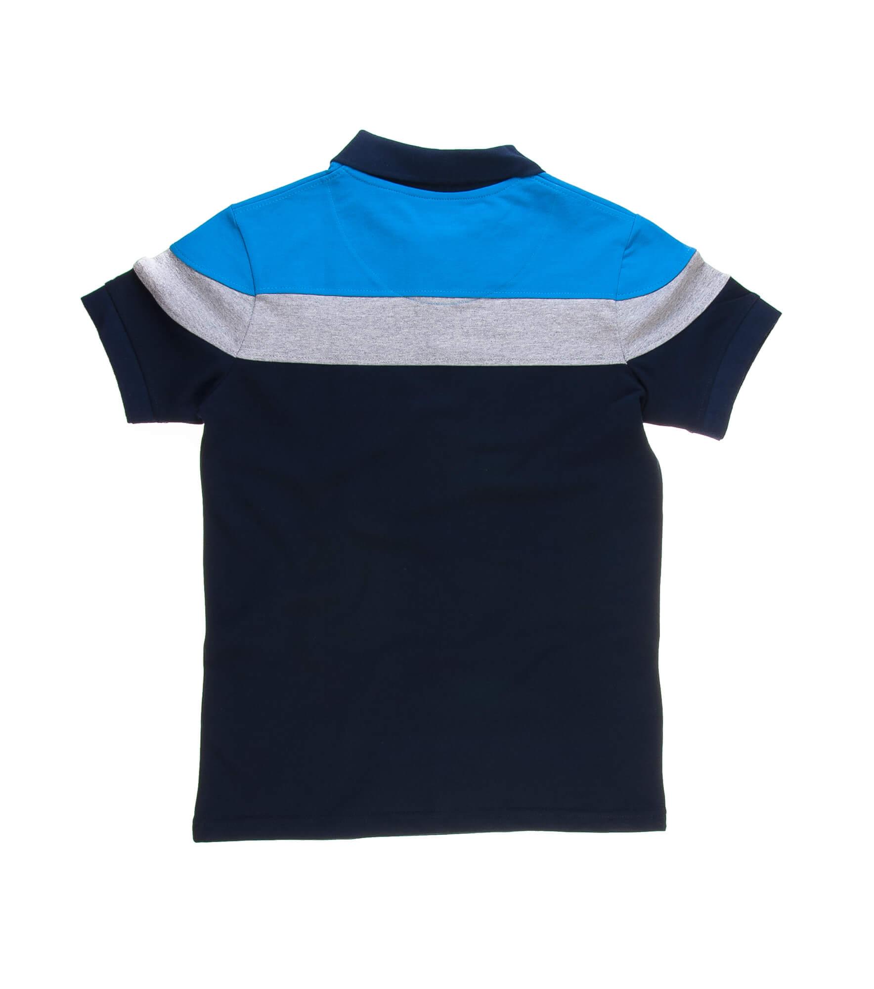 تی شرت یقه دار مردانه طرح PS1070-U.S POLO