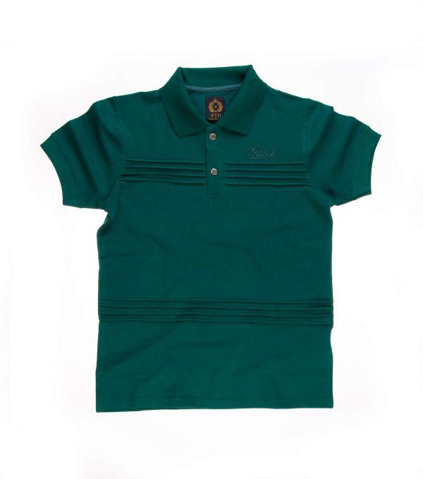 تی شرت یقه دار مردانه طرح PS1002 - GUCCI