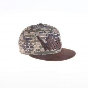 کلاه کپ مردانه طرح دار کد BC1001