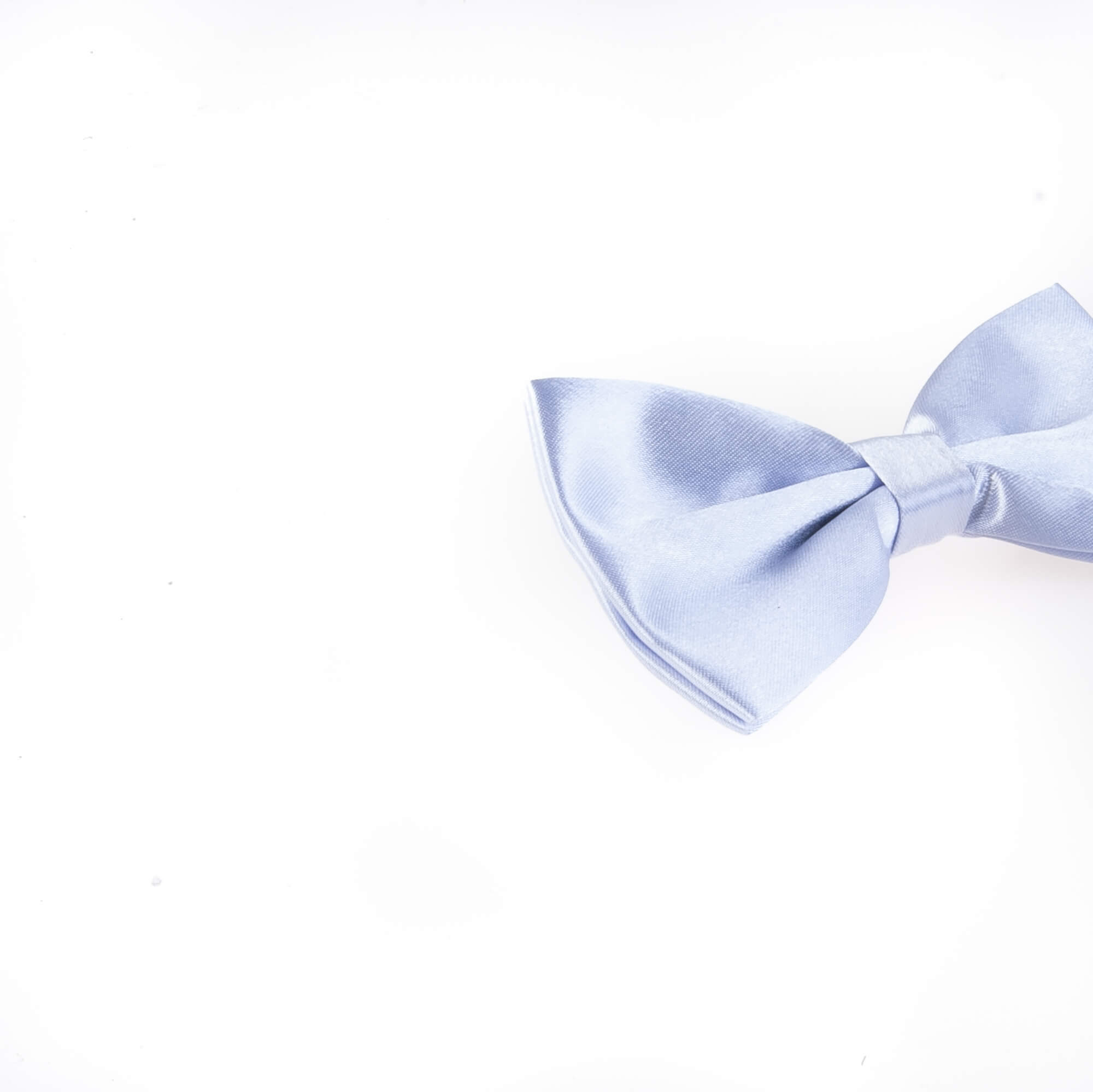 پاپیون ساده مردانه ساتن رنگ آبی BT1083