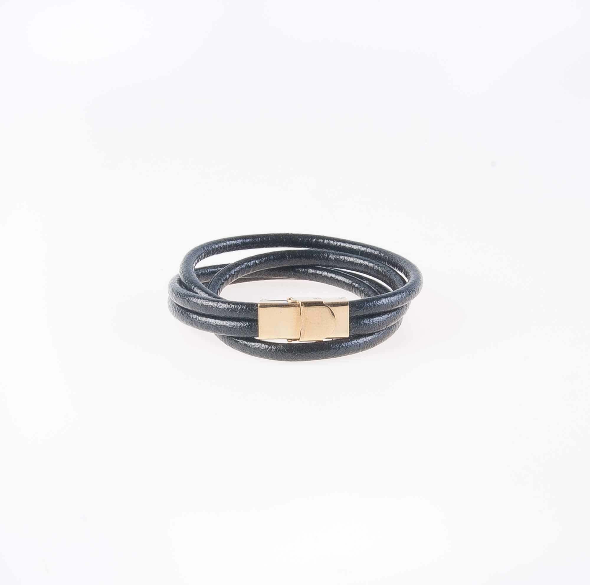 دستبند چرمی فلزی مردانه MM1008
