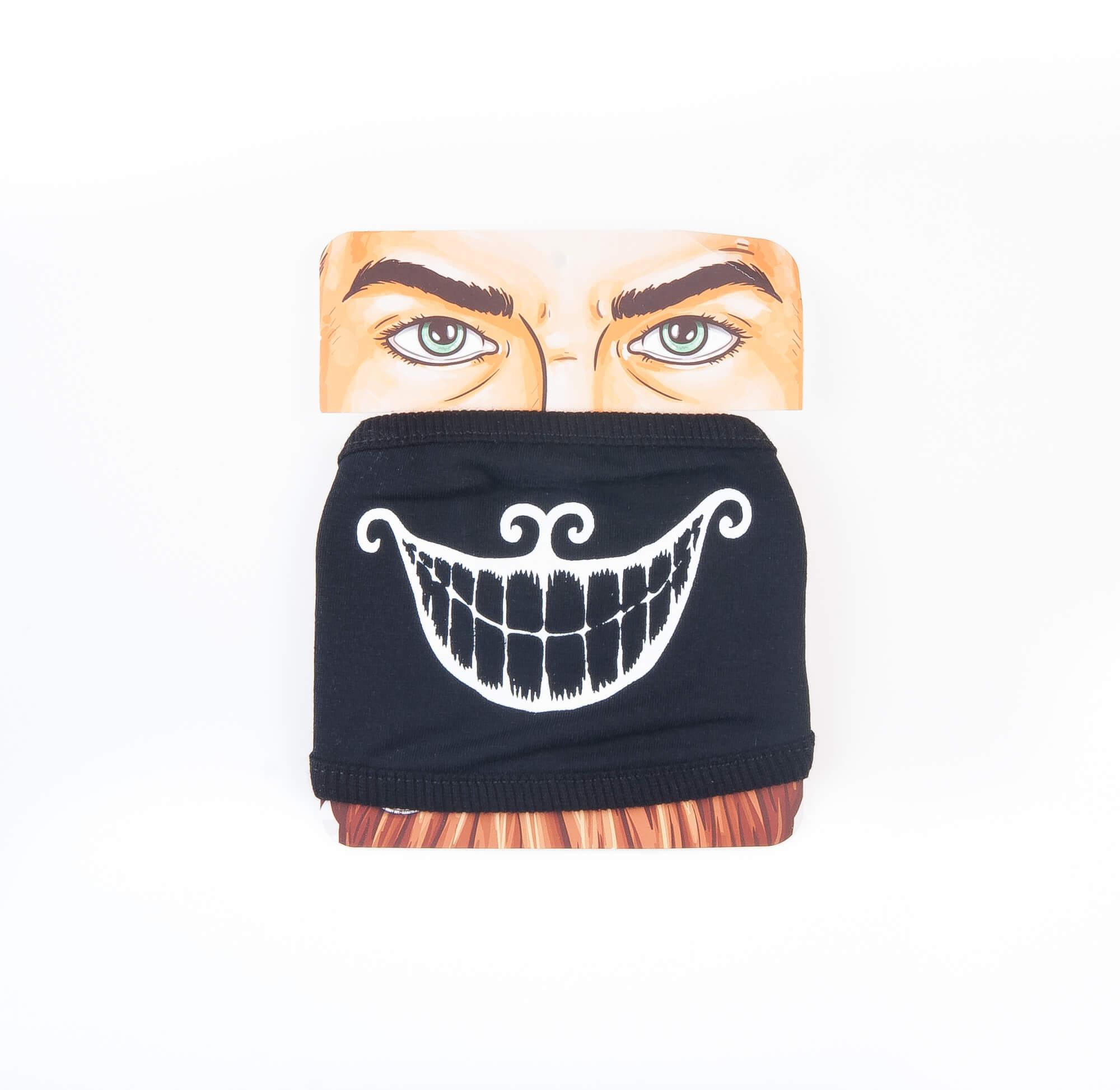 ماسک بلک لایت طرح دار کد MA1004
