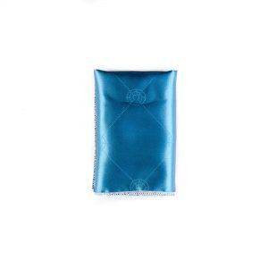 خرید دستمال جیب طرح دار آبی کد PS1034 اکسسوری