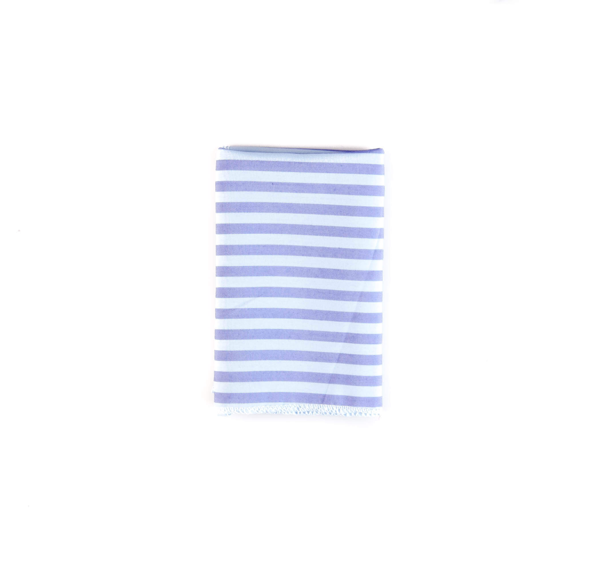 دستمال جیب طرح راه راه رنگ آبی کد PS1048